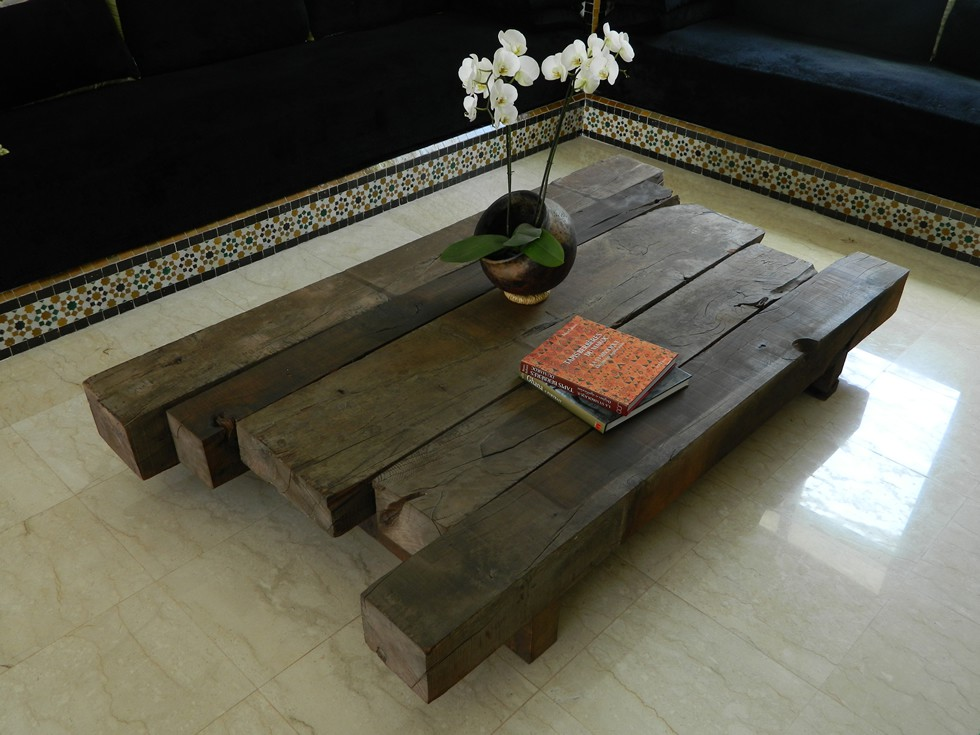 Atlas timber coffee table