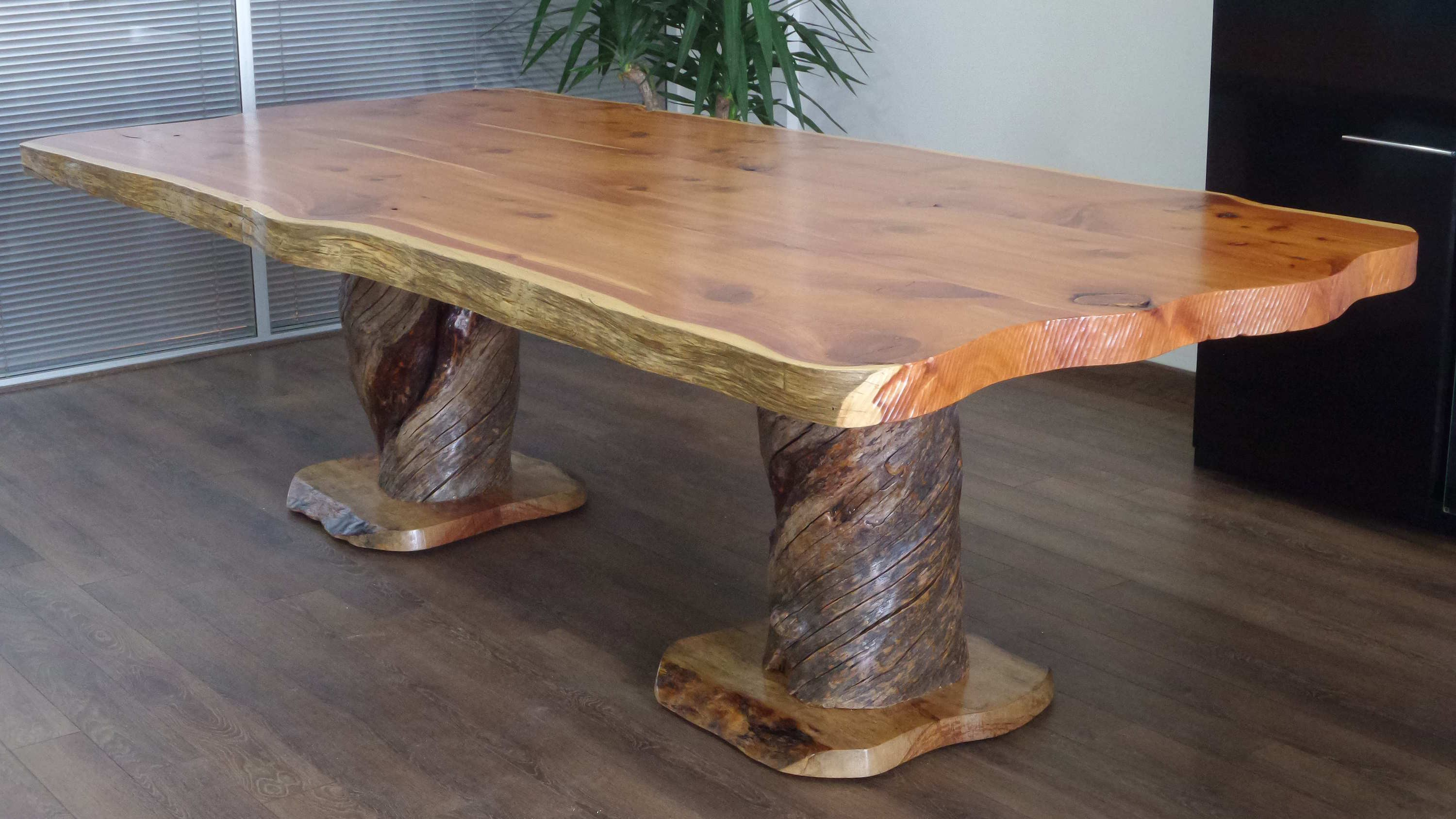 Juniper & almond conference table