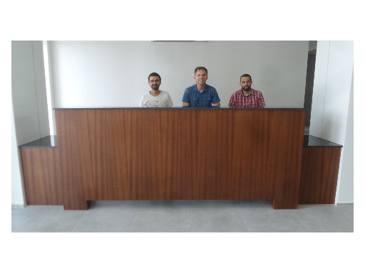GWA Mediatech - reception desk