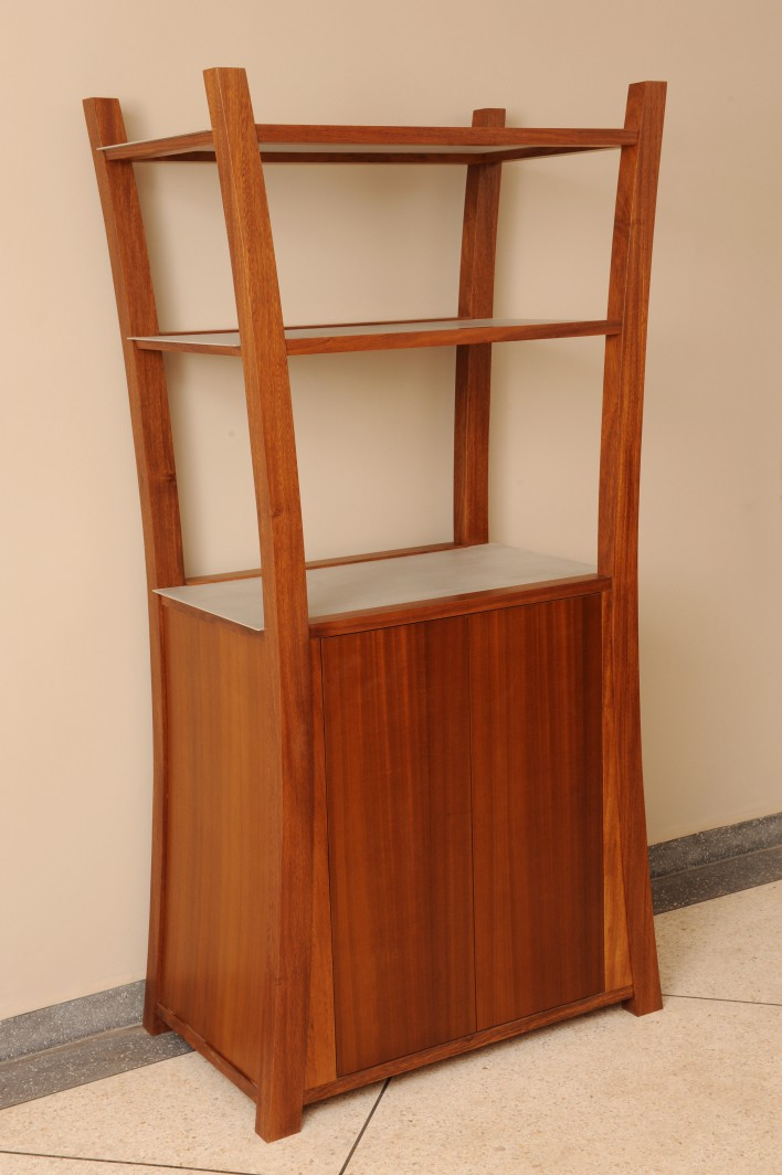 Palmier bookcase & cabinet - 2 door & drawer