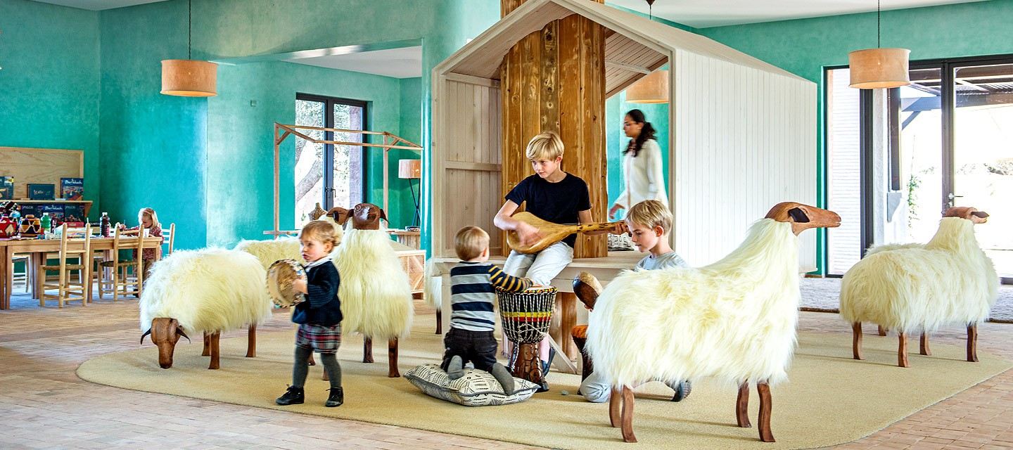 Hotel Royal Palm Marrakech - custom sheep - kids zone