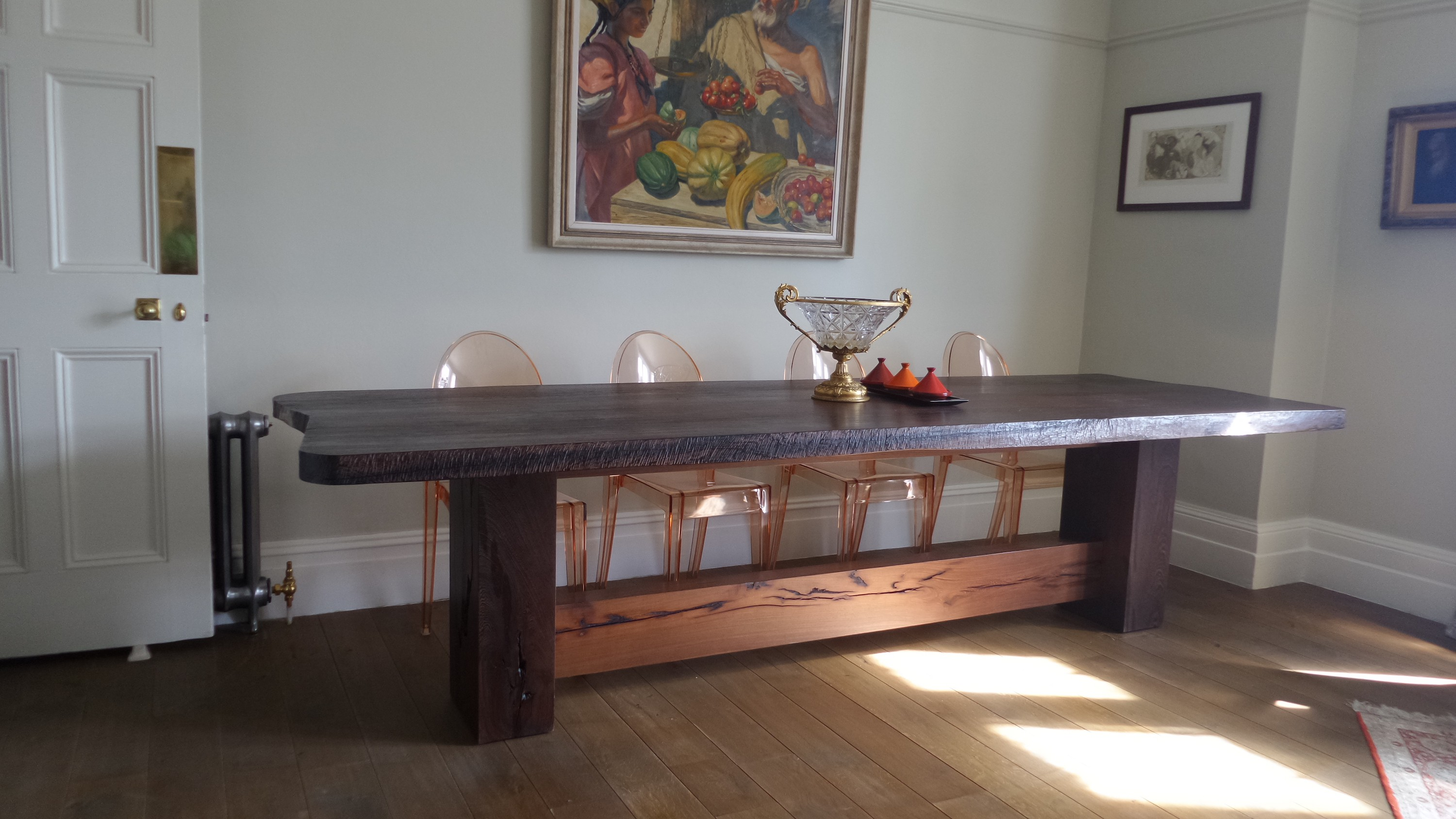 Wenge dining table - London