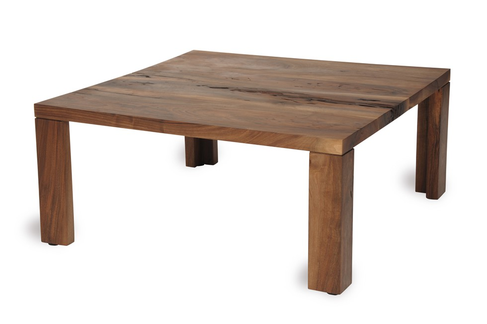 Atlas walnut coffee table