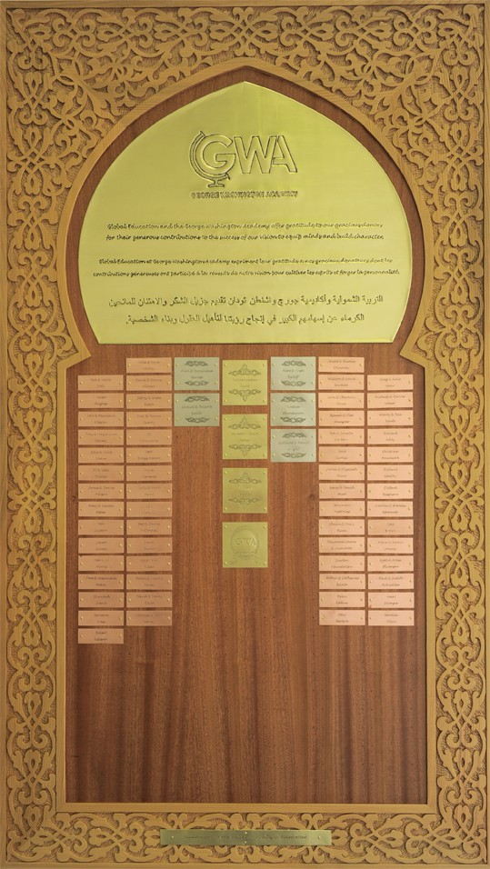 GWA donor board