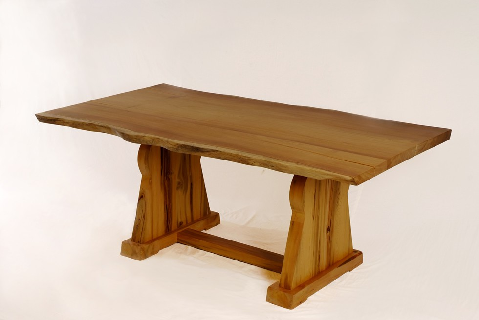 Atlas dining table - trestle